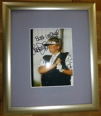 LAURA DAVIES-A Superb Hand Signed Photo,Mounted & Matted-RARE & COA Too