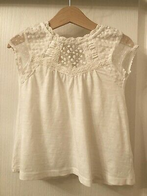 Girl's Cream Next Top Age 2-3 Years Brand New Without Tags