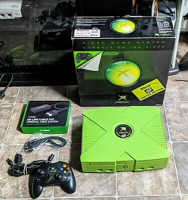 Original Mountain Dew XBOX With 3TB Hard Drive HDMI Loaded W/ Warranty!