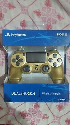 PS4 Controller DualShock 4 Wireless for Sony PlayStation 4 in gold