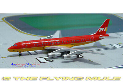 1:400 AeroClassics DC-8-55 Braniff International N820E