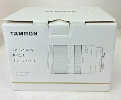 Tamron 28-75mm F/2.8 Di III RXD for Sony Mirrorless Full Frame E Mount