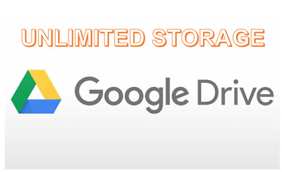 Unlimited Google Drive Storage/ Cloud Drive (For Existing Gmail)