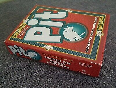 Pit - Top Cards (Winning Moves) - Classic Card Game - 1996