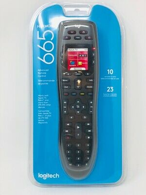 Brand NEW Sealed Logitech Harmony 665 Advanced Remote Control - 10 Remotes In 1