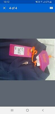 NEW Girls Navy TED BAKER zip up Top/blouse (Age 12)
