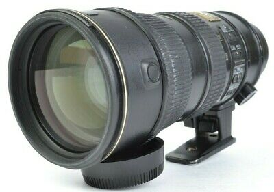 Nikon AF-S VR-NIKKOR 70-200mm f/2.8 G ED Telephoto Lens **PLEASE READ** #E50001