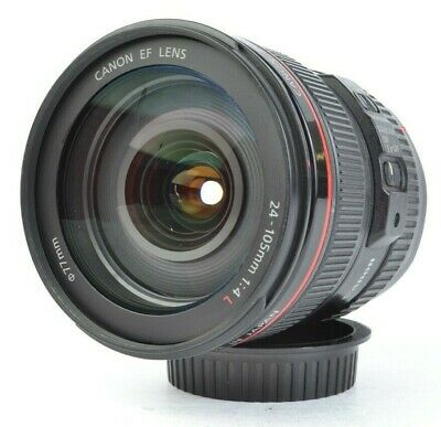 Canon EF 24-105mm f/4 L IS USM Ultrasonic Standard Zoom Lens *SCRATCHES* #E16706