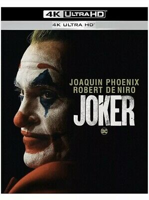 Joker (2019) 4K Blu Ray Case Only, No DISCS - New, Never Used