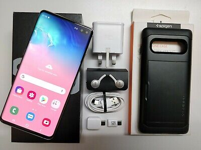 Samsung Galaxy S10+ Plus SM-G975F - 128GB - Prism White (Unlocked) Dual-sim New