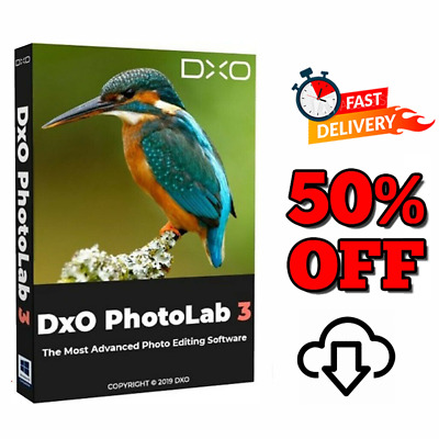 DxO PhotoLab 3   Official Version   Liftime License ✅✅ INSTANT DELIVERY 30s ✅✅