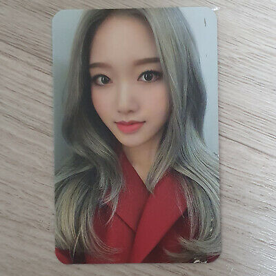 Gowon - Official Photocard Loona 2nd Mini Album Hash # Monthly Girl Kpop