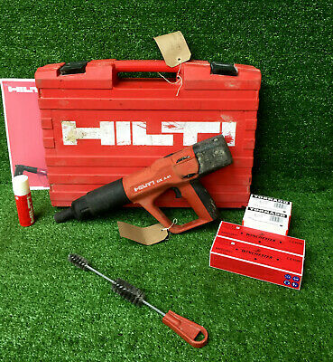 HILTI DX A41 F8 Nail Gun  Cartridge Hammer C/W 200 Nails & Cartridges  REF 8173B