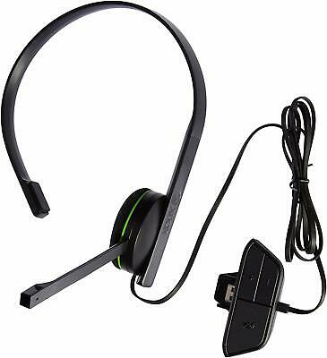 Official Microsoft Xbox One 1564 Wired Gaming Chat Headset (ML3973)