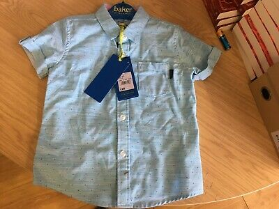 Boy's Ted Baker Short Sleeved Shirt 2-3 Years (Kid's / Babies) Brand New Rrp £20