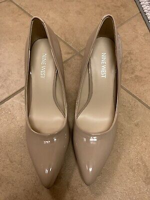 Nine West Womens Beige Closed Heels Pumps Shoes Size 6.5 NEW - Never Worn