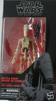 "Star Wars The Black Series 6"" Battle Droid #83 New"