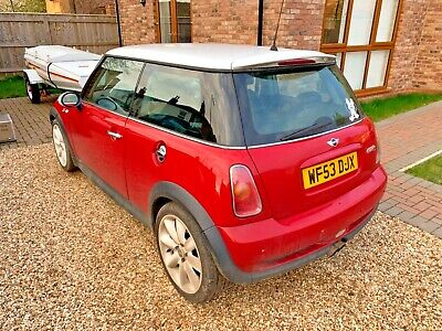 53 plate Mini Cooper S supercharged 163 Bhp