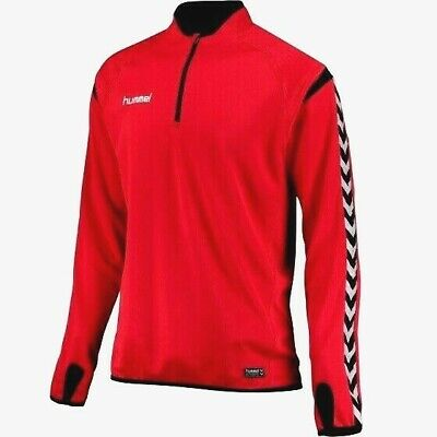 Hummel Authentic Charge Training Sweat Truered/Black Size 164 Bnwt Rrp £40.