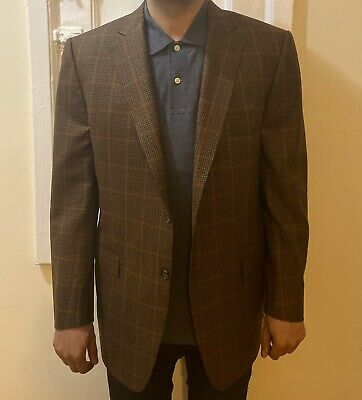 Ermenegildo Zegna for Bergdorf Goodman Wool Sport Jacket 54/44
