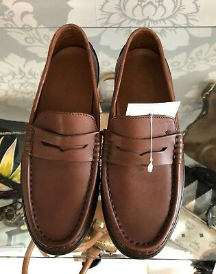 TOD'S Brown Loafers Sz 35.5