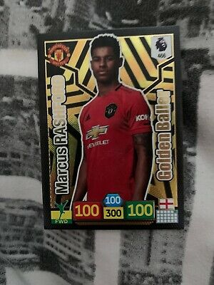 Panini Adrenalyn xl Premier League Marcus Rashford Golden Baller 19/20 2019/20