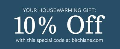 Birch Lane 10% Off Entire Purchase Exp 5/31/20 First Order only