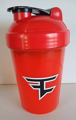 GFuel Energy Shaker Cup/Bottle FaZe Limited Edition 16 oz Red Black