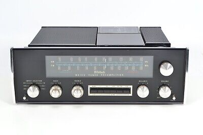 McIntosh MX 112 AM FM Vintage Stereo Tuner Preamplifier - Phono Stage