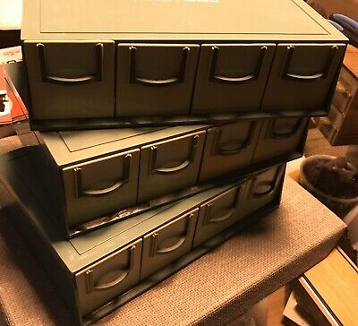 Paterson Blockfile Stacking Slide Boxes X 3