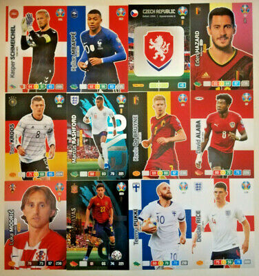 Panini UEFA EURO 2020 ☆ FANS / TEAM MATE ☆ Adrenalyn XL  Cards #28 to #207