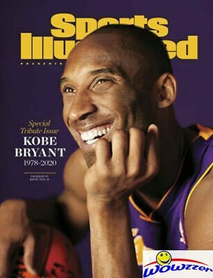 KOBE BRYANT Sports Illustrated Magazine Special Tribute Issue 1978-2020 MINT NEW
