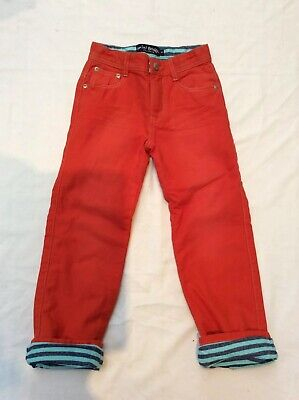 Mini Boden Boys Lined Trousers . New . Age 6