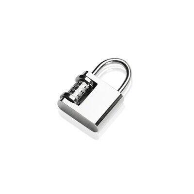 316L Surgical Stainless Steel Lock Pendant
