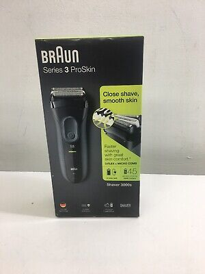 Braun Series 3 ProSkin 3000s Rechargeable Electric Shaver - New!!!