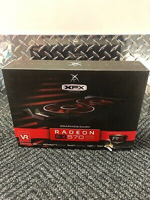 SALE..!!((Brand New))XFX AMD Radeon RX 570 8GB GDDR5 VRAM Graphics Card XXX