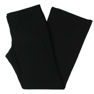 XOXO Womens New Yorker Black Dress Pants Bottoms Juniors 13/14 BHFO 0287