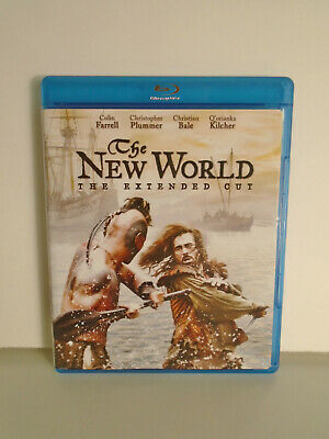 The New World (Blu-ray Disc, 2009 Extended Cut) Excellent Condition No Scratches