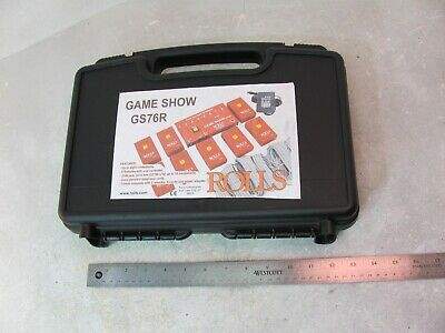 Game Show Gs76R Rolls Trivia Game Buzzers Buttons