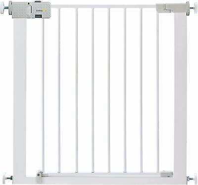Safety 1st Secure Tech Smply Close Metal Gate, Whte