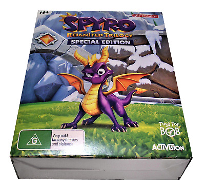 Spyro Reignited Trilogy Special Edition Sony PS4  *Complete*