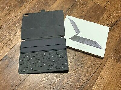 Apple Smart Keyboard Folio For iPad Pro 11 inch MU8G2LL/A Black Cover Authentic