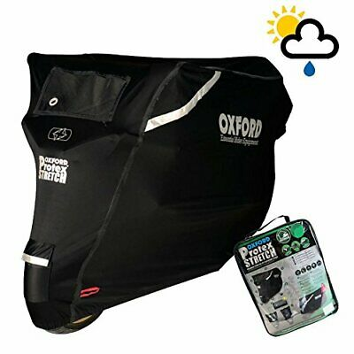 SYM XS125 Oxford Protex Stretch Waterproof torbke Bke Cover Black