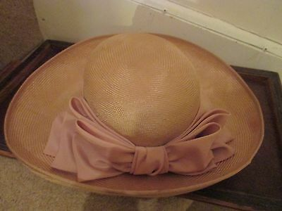 Lady's  hat from Mad Hatter Shop Guildford  55cm inner circum approx.Worn once