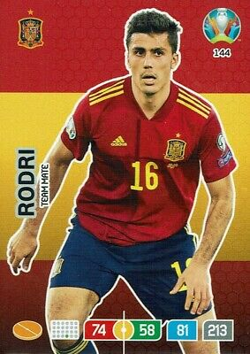 Panini Adrenalyn XL UEFA Euro EM 2020 Team Mate Nr. 144 Rodri