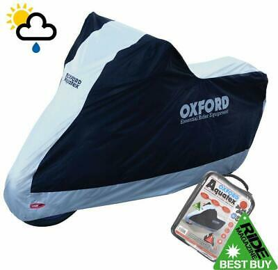PIAGGIO FLY 125 Oxford torcycle Cover Waterproof torbke Whte Black