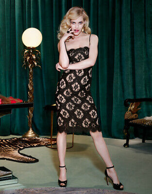 Agent Provocateur Black Chii Chi Dress Size Small / Ap 2 / 8-10 Bnwt Rrp £495