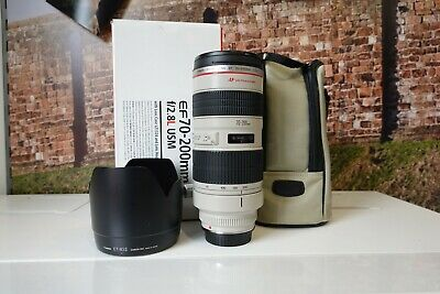 Canon EF 70-200mm F/2.8 EF IS L USM Lens**COMPLETE & MINT USED CONDITION**