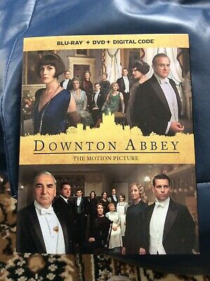 Downton Abbey the movie bluray dvd inc. digital copy