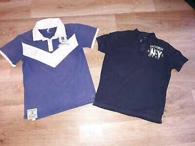Abercrombie & Fitch Kids (M) England Rugby RFU polo 11-12yrs good condition